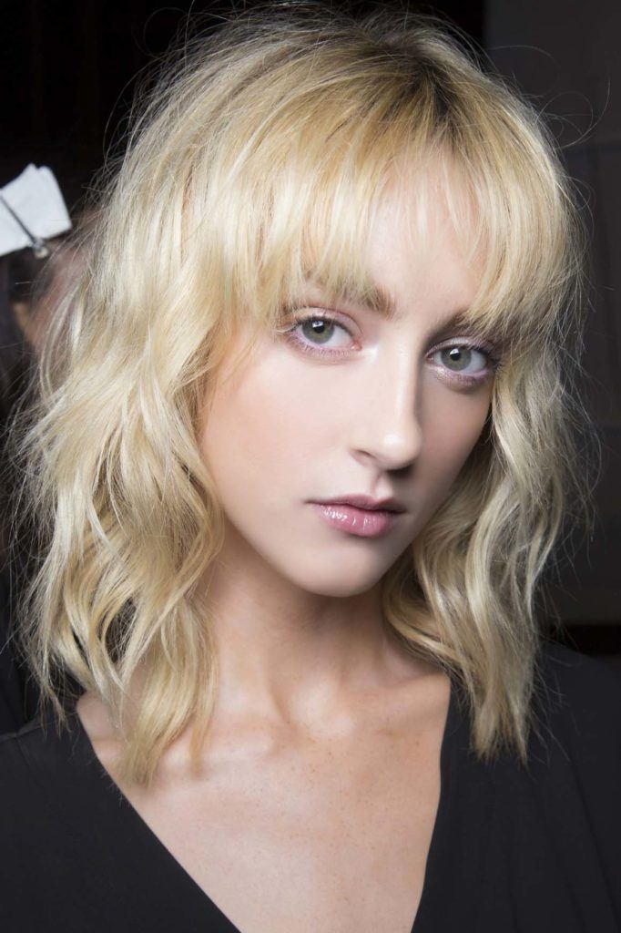 medium choppy hairstyles for square faces