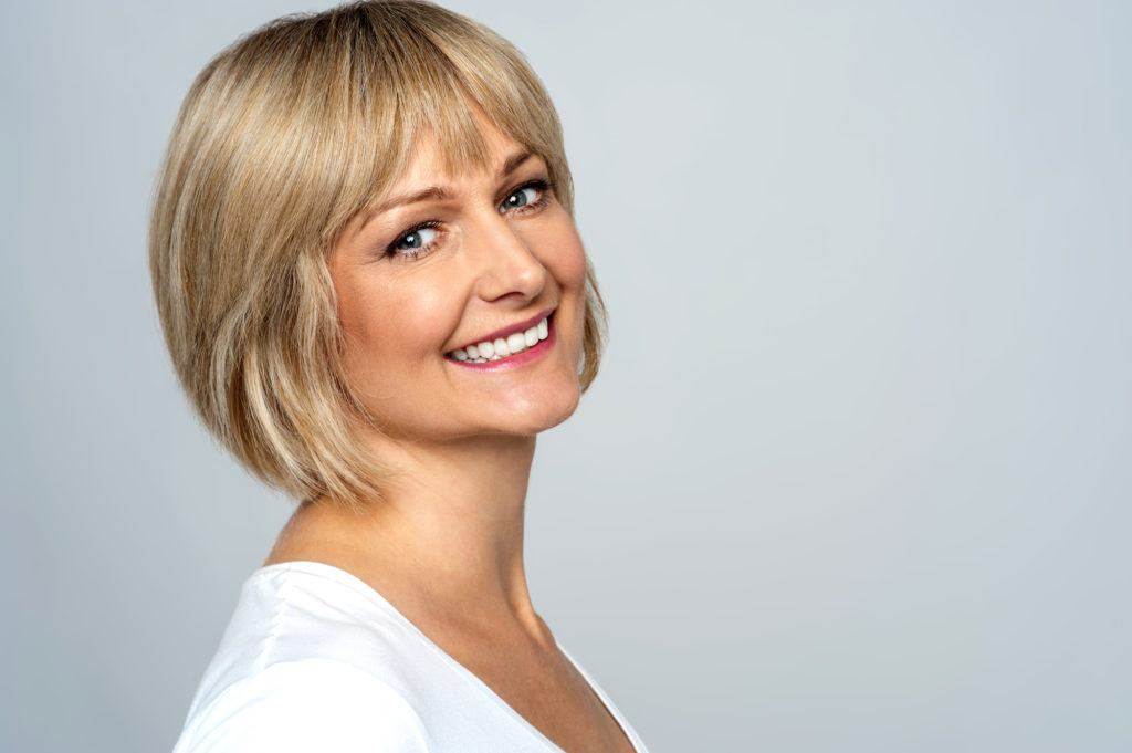 haircuts for women over 40 - rounded bob