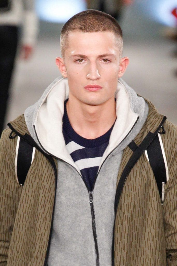 buzz cut hairstyle for men