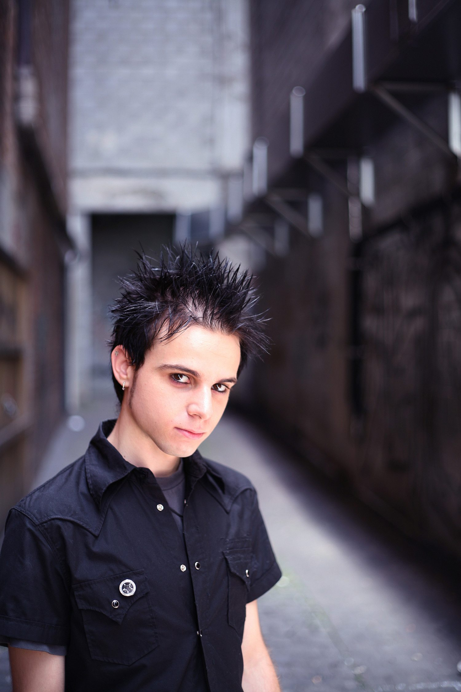 emo hairstyles for guys spiky hair