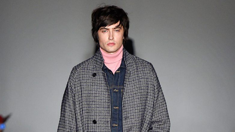 Todd Snyder New York Fall 2018 emo hairstyles