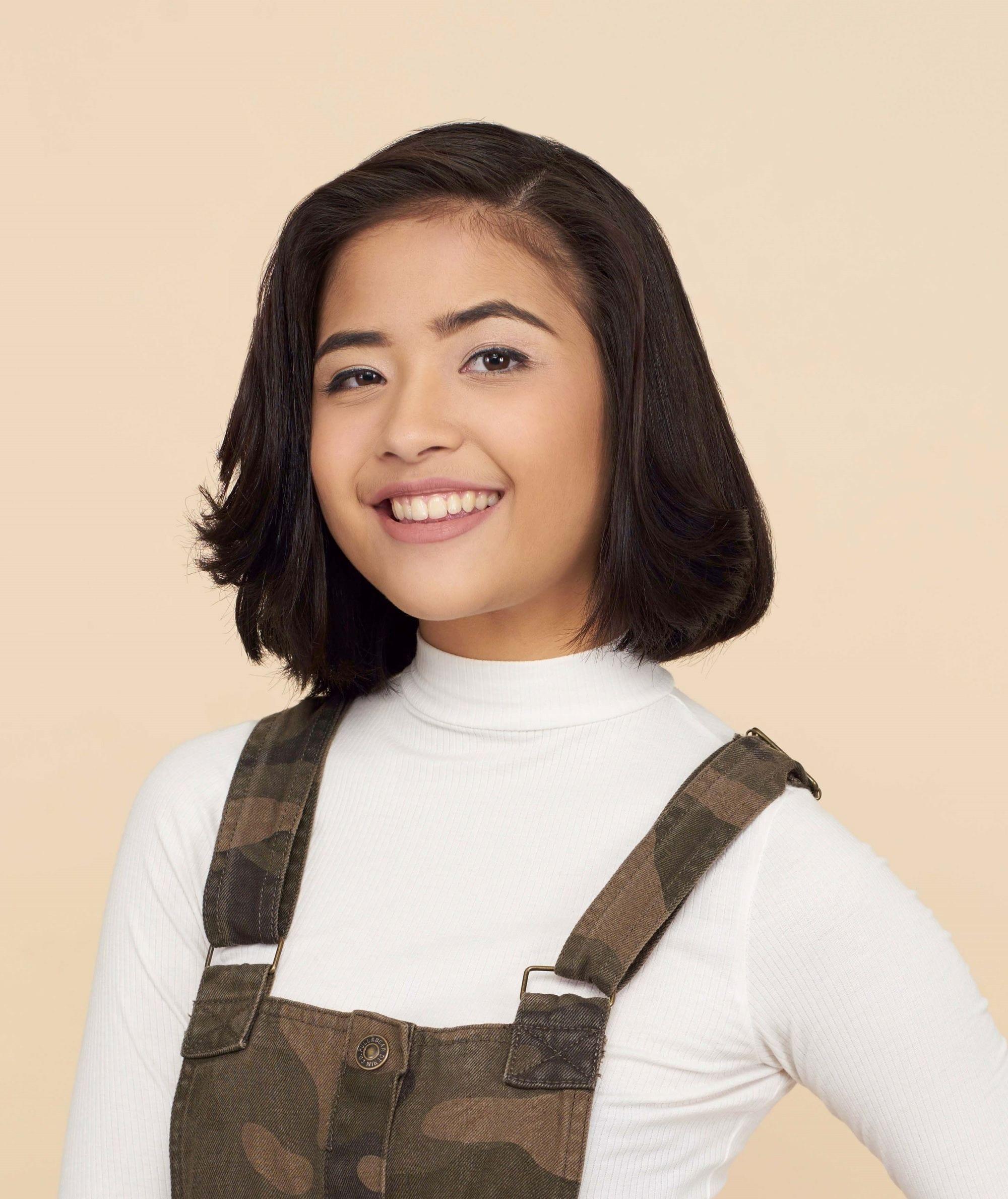 Small filipina girl