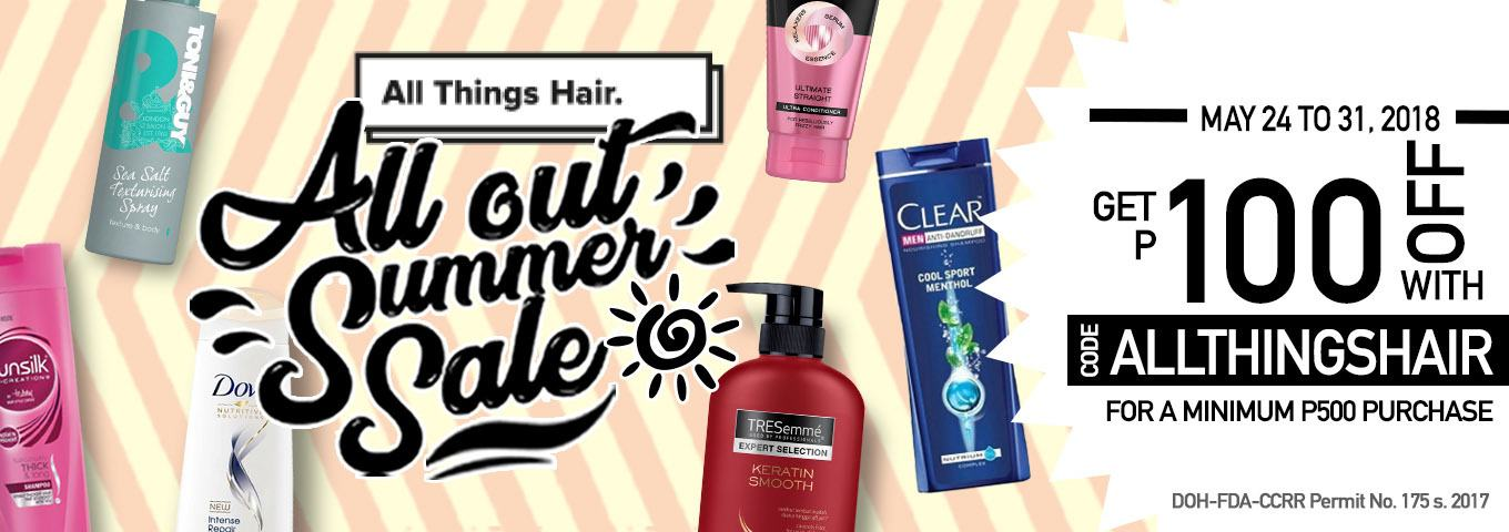 All Things Hair All Out Summer Sale Voucher - Fishtail French Braid