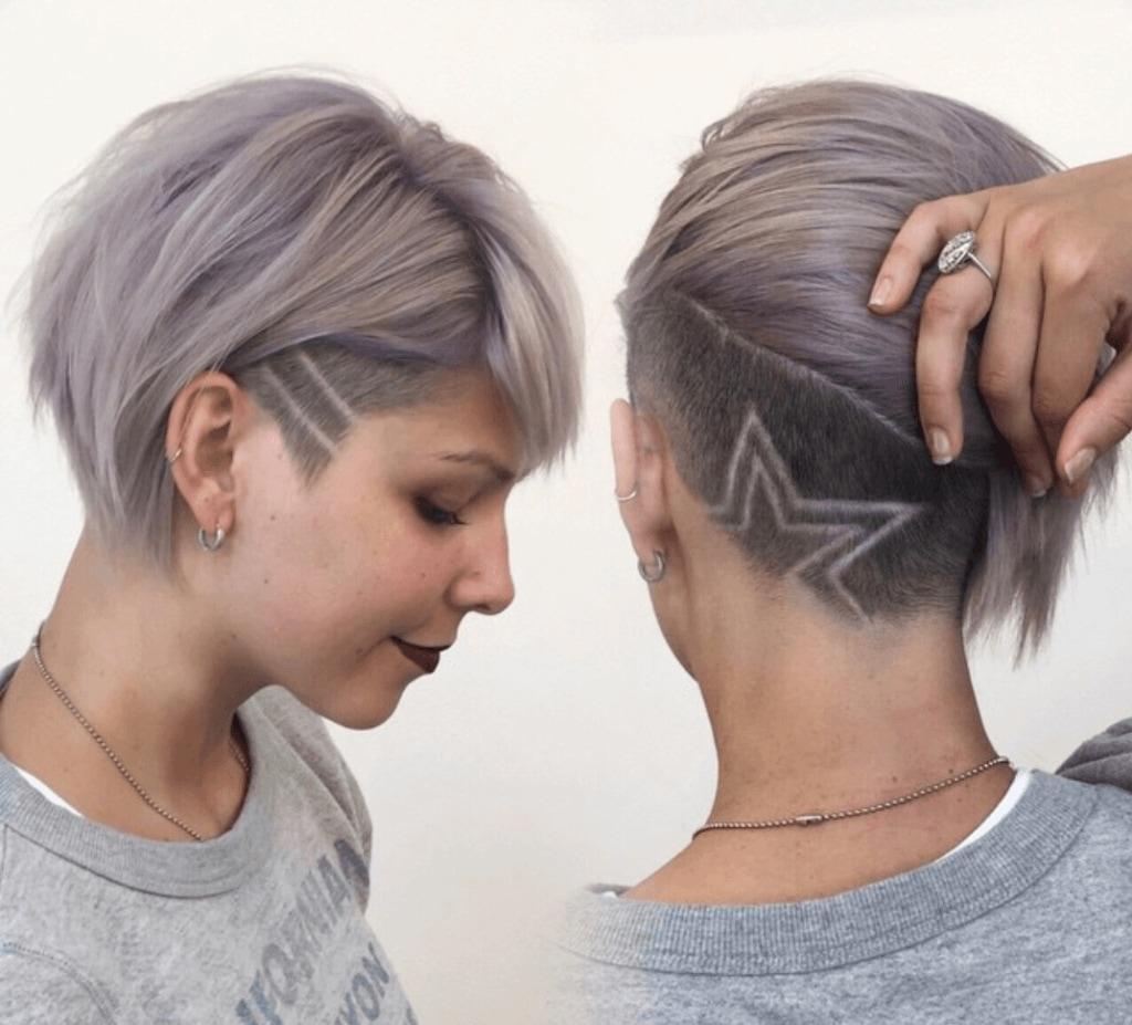 Hair Tattoo Inspiration Cool Undercut Designs For Women