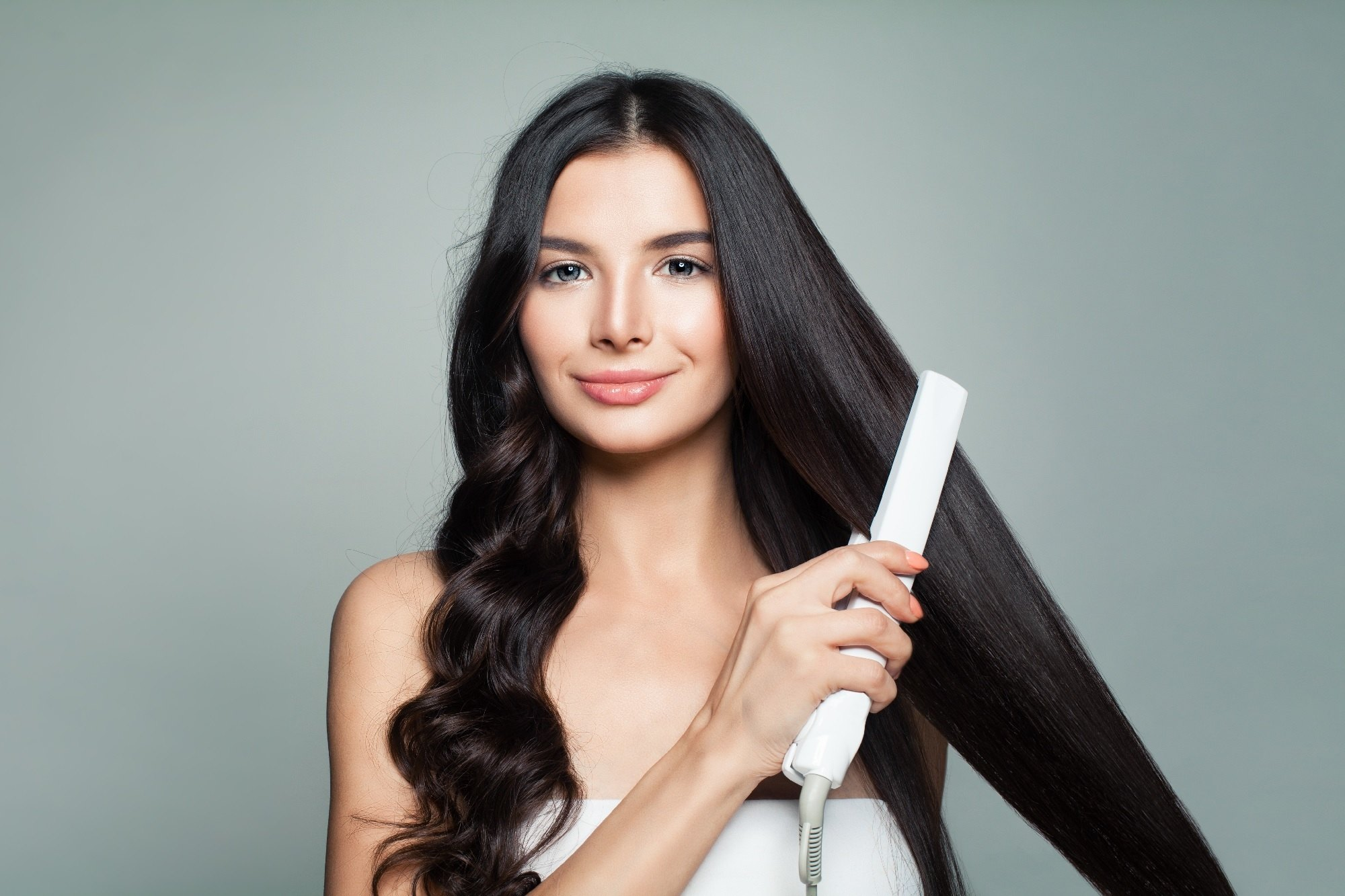 keratin smoothing treatment Shutterstock