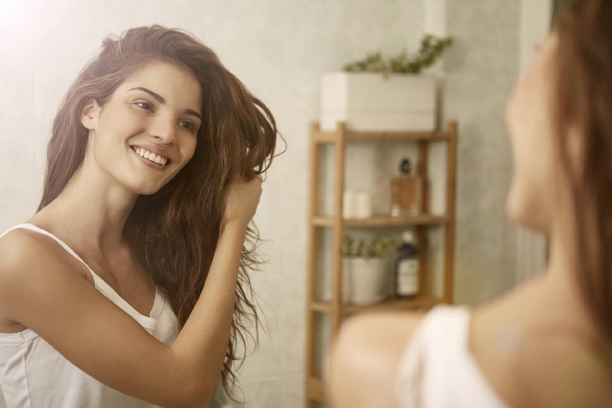 Rainy day hair care tips - Dry your hair