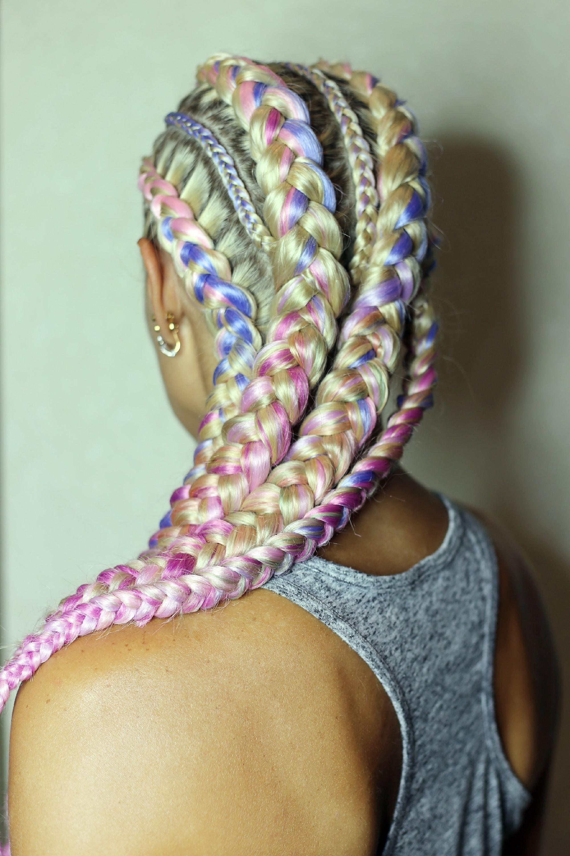 Uni-cornrow braids Shutterstock
