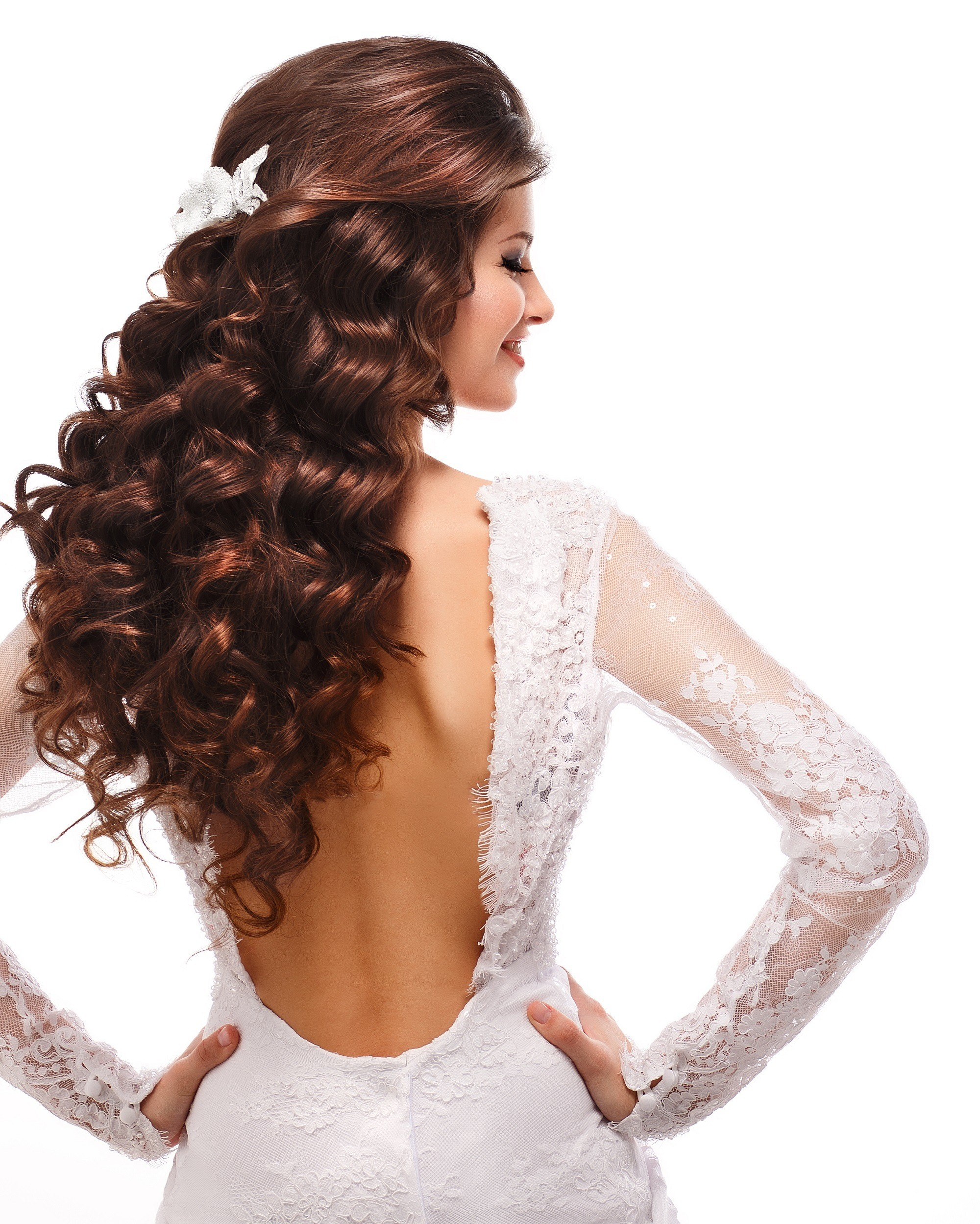 Wedding Hairstyles Curly Hair: Curly Wedding Hairstyles For Kulot Brides