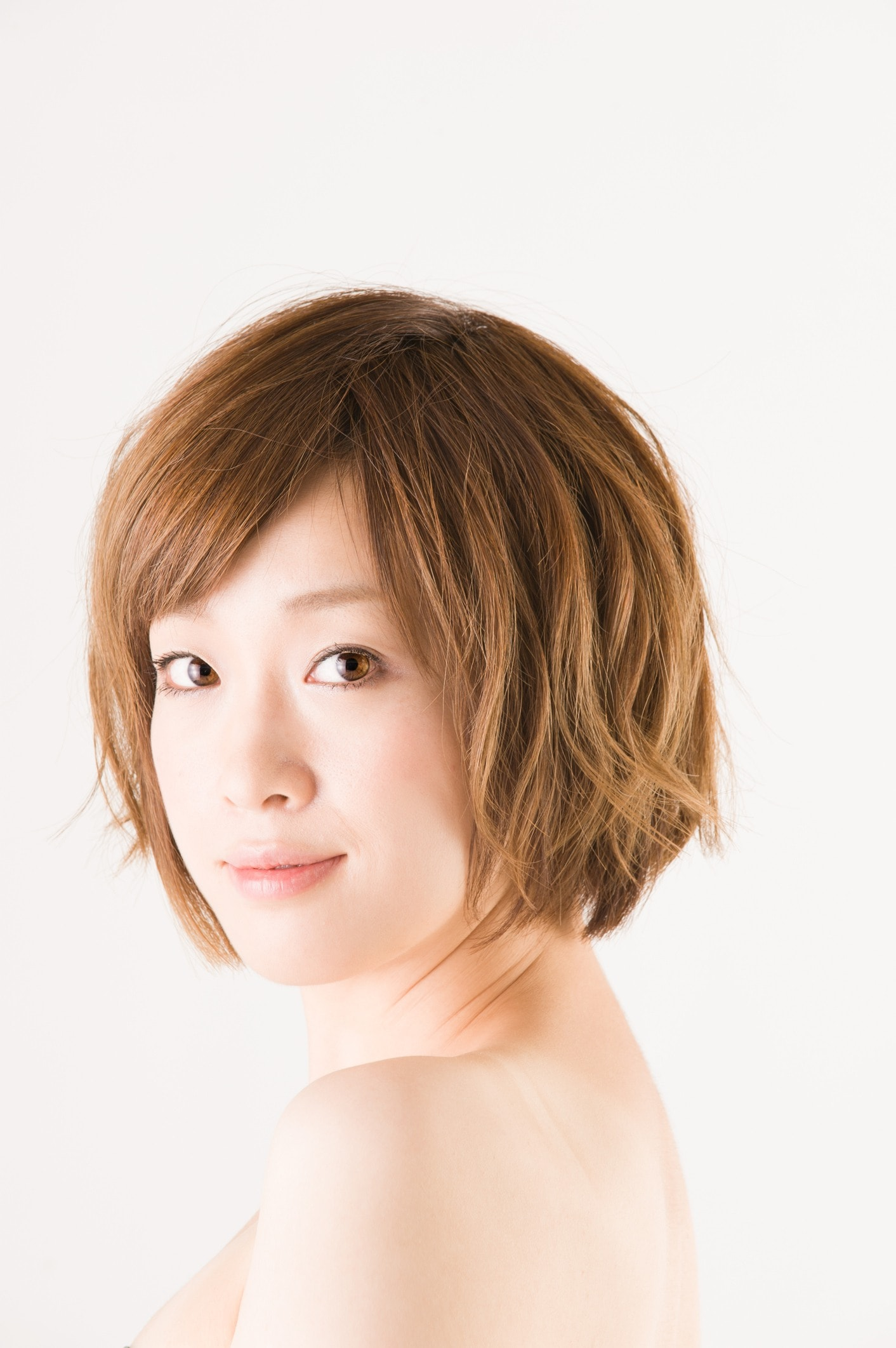 Messy down do: Japanese hairstyles