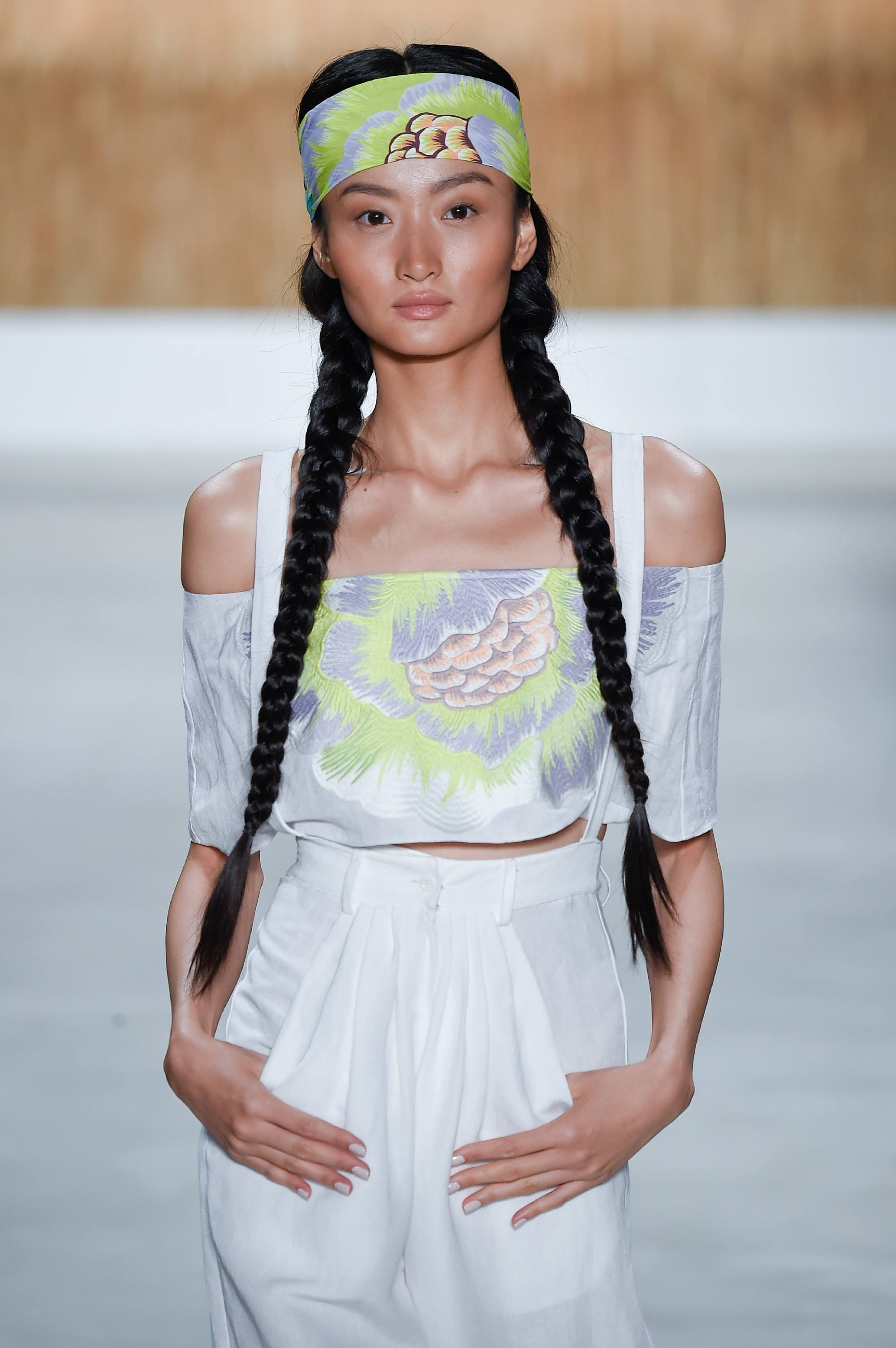 Queen Elsa hair ideas - Braided pigtails Indigital