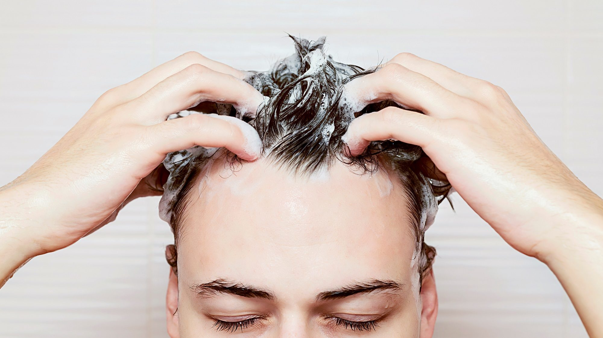 Scalp care tips for men: Deep cleanse hair and scalp