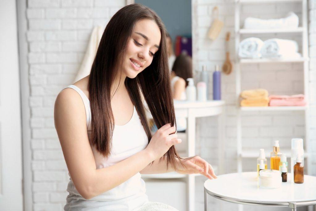 Hair care routine for thin hair