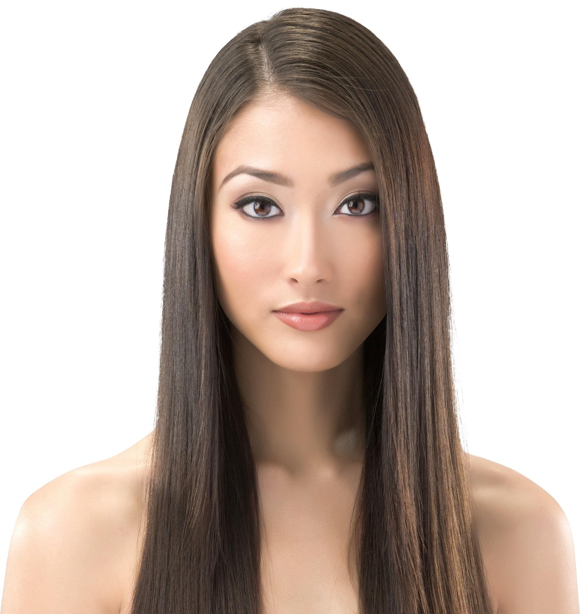 Mermaid hair ideas 4: Long, straight hair
