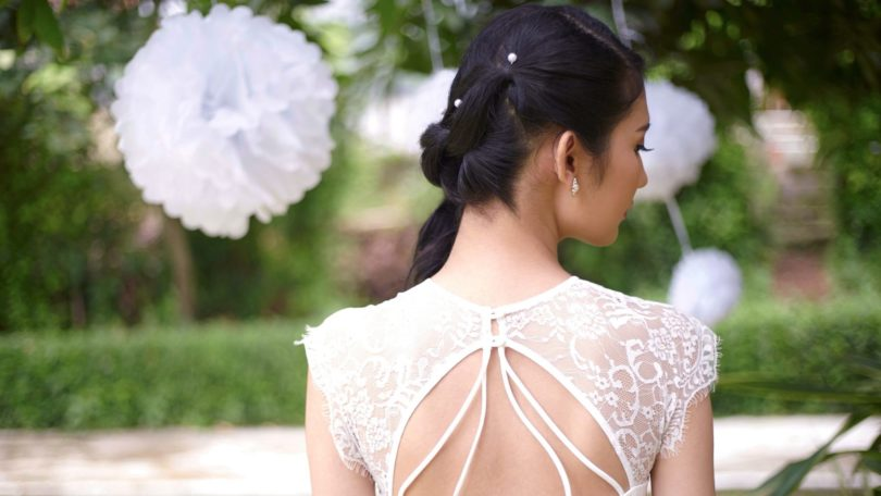 How to make a pony braid: An elegant look especially for weddings