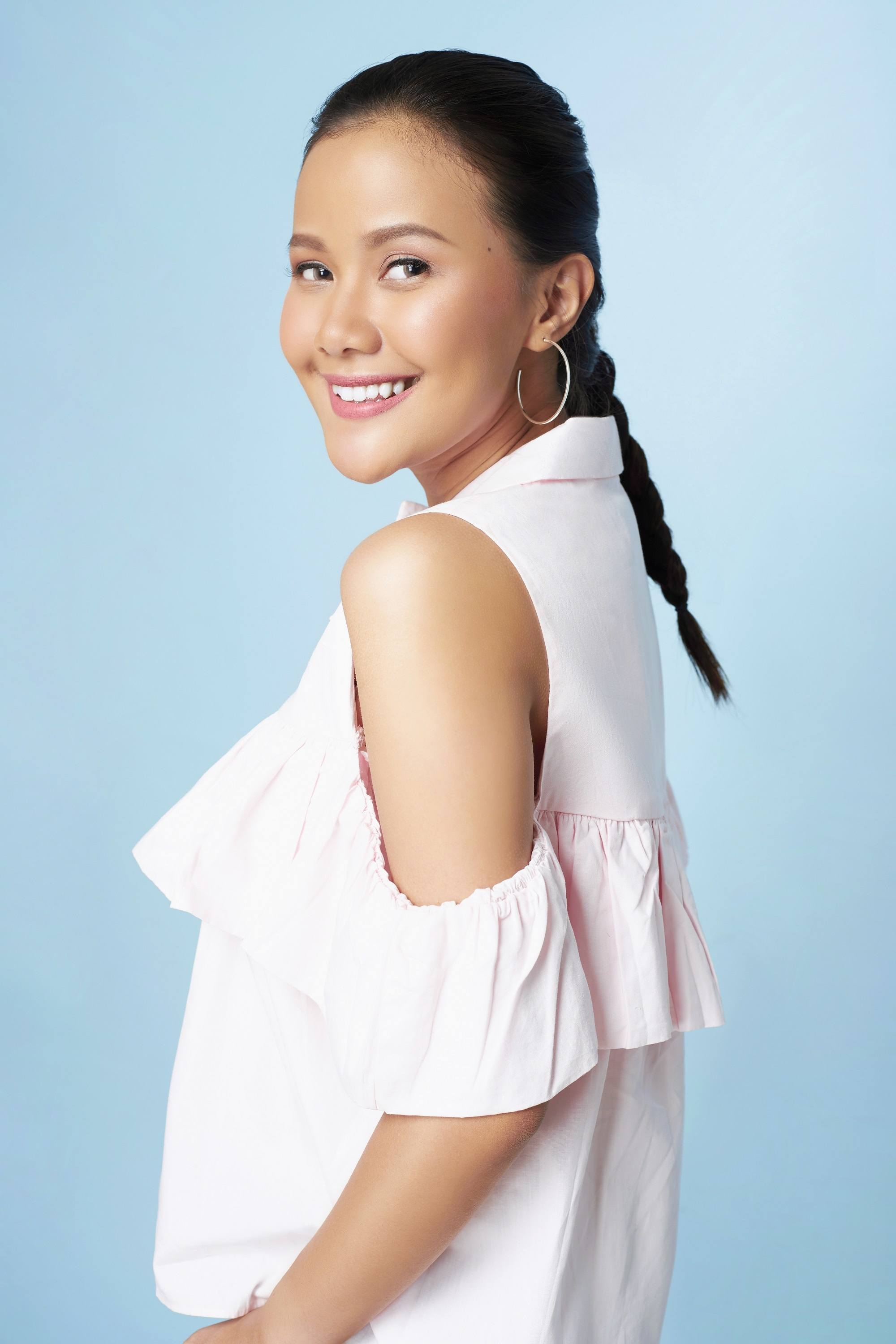 All Things Hair Live x Jay Wee event: Asian woman with Dutch braid