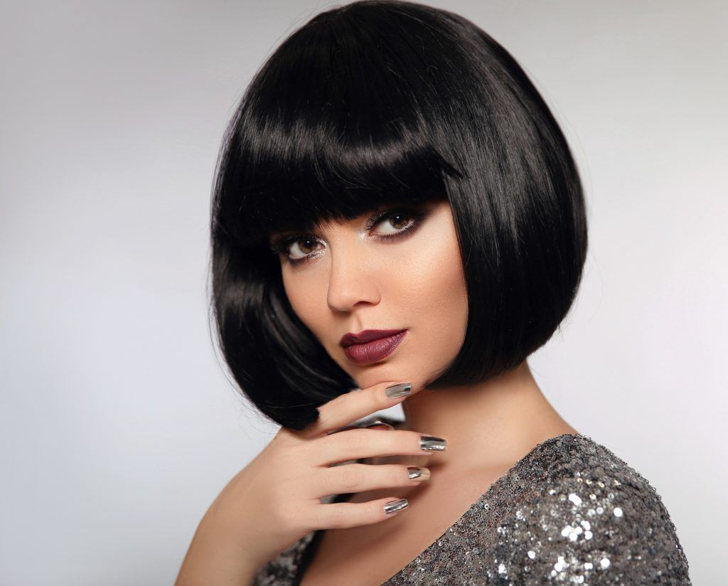 Black Hair With Bangs 10 Gorgeous Ways To Wear This Look
