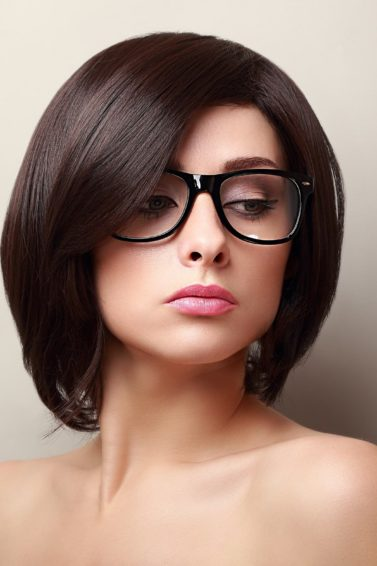 Bangs With Glasses Rock This Look With These Hairstyle Pegs