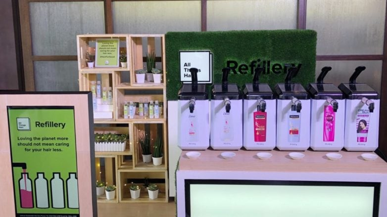 All Things Hair Refillery station in malls