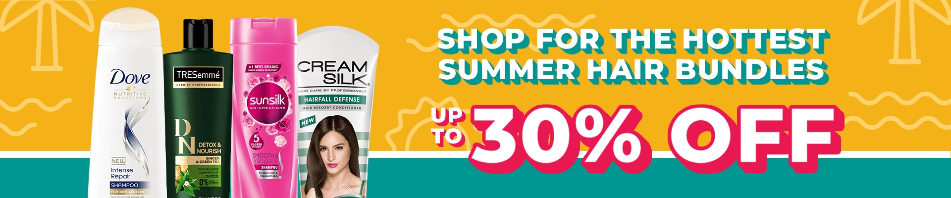 All Things Hair Summer Sale Banner