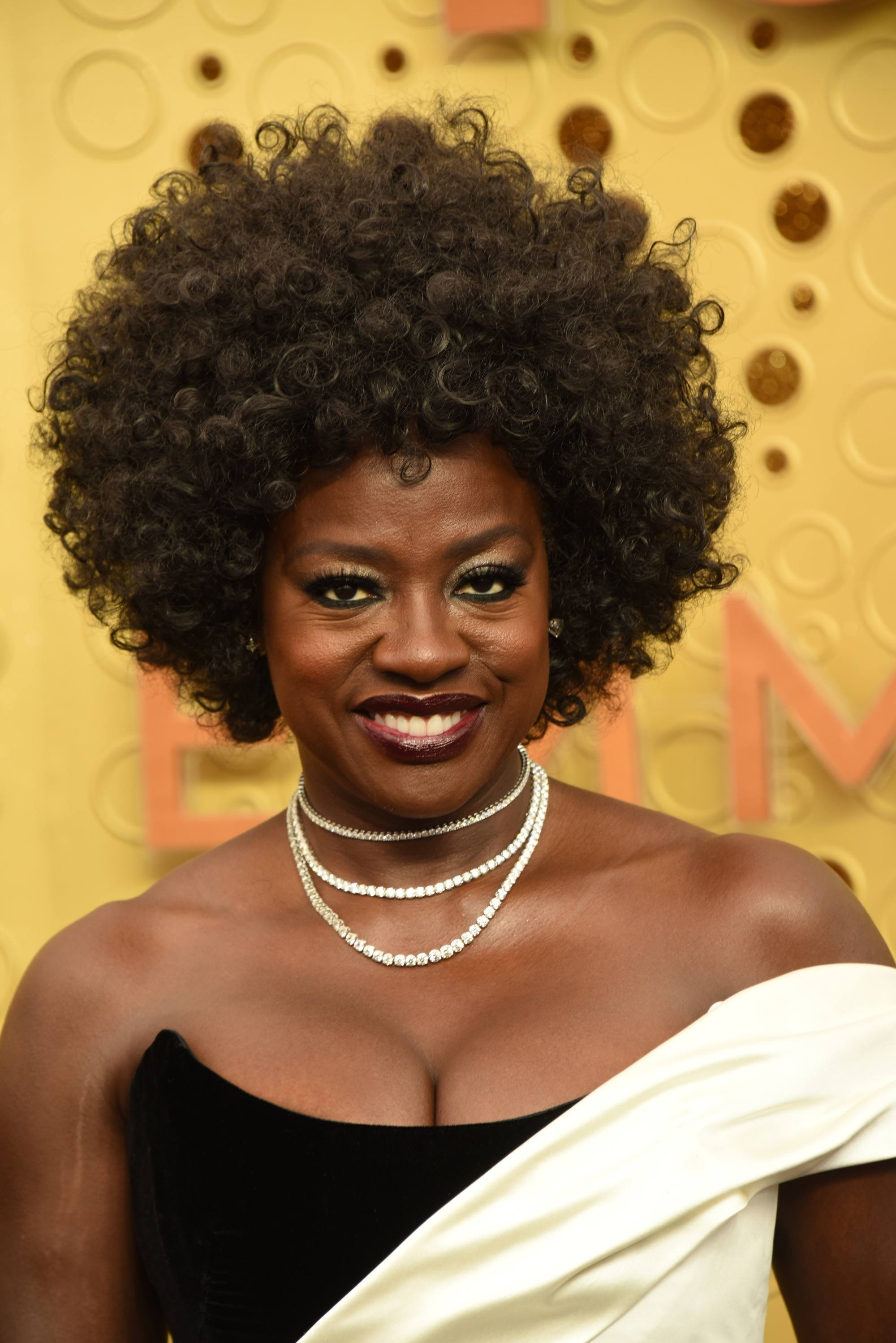 Emmy Awards 2019 Best Hairstyles: Viola Davis with her curly afro