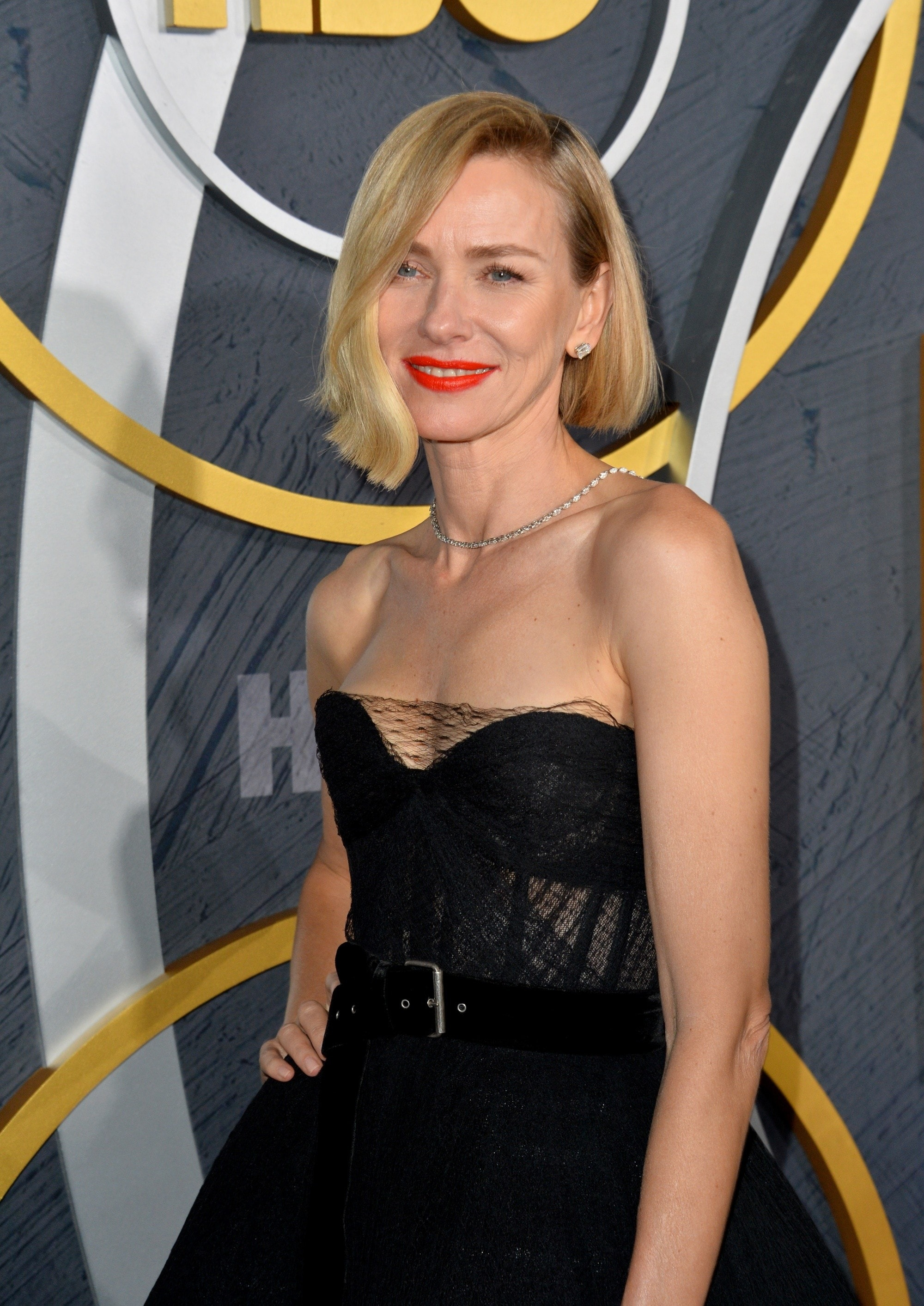 Emmy Awards 2019 Best Hairstyles: Naomi Watts with her side part bob