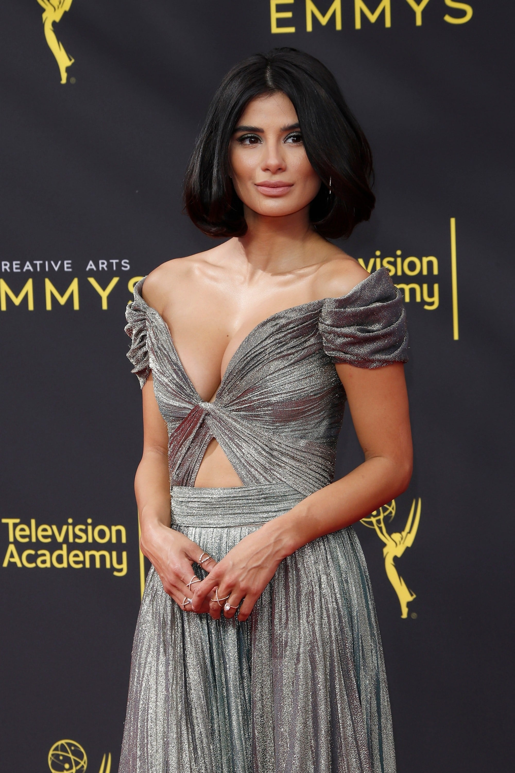 Emmy Awards 2019 Best Hairstyles: Diane Guerrero with her volumized bob