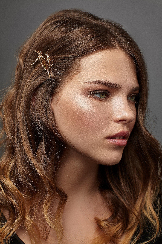 Pearl flower small hair clip fringe clip bridal hair accessory cute tine white flower hair clips