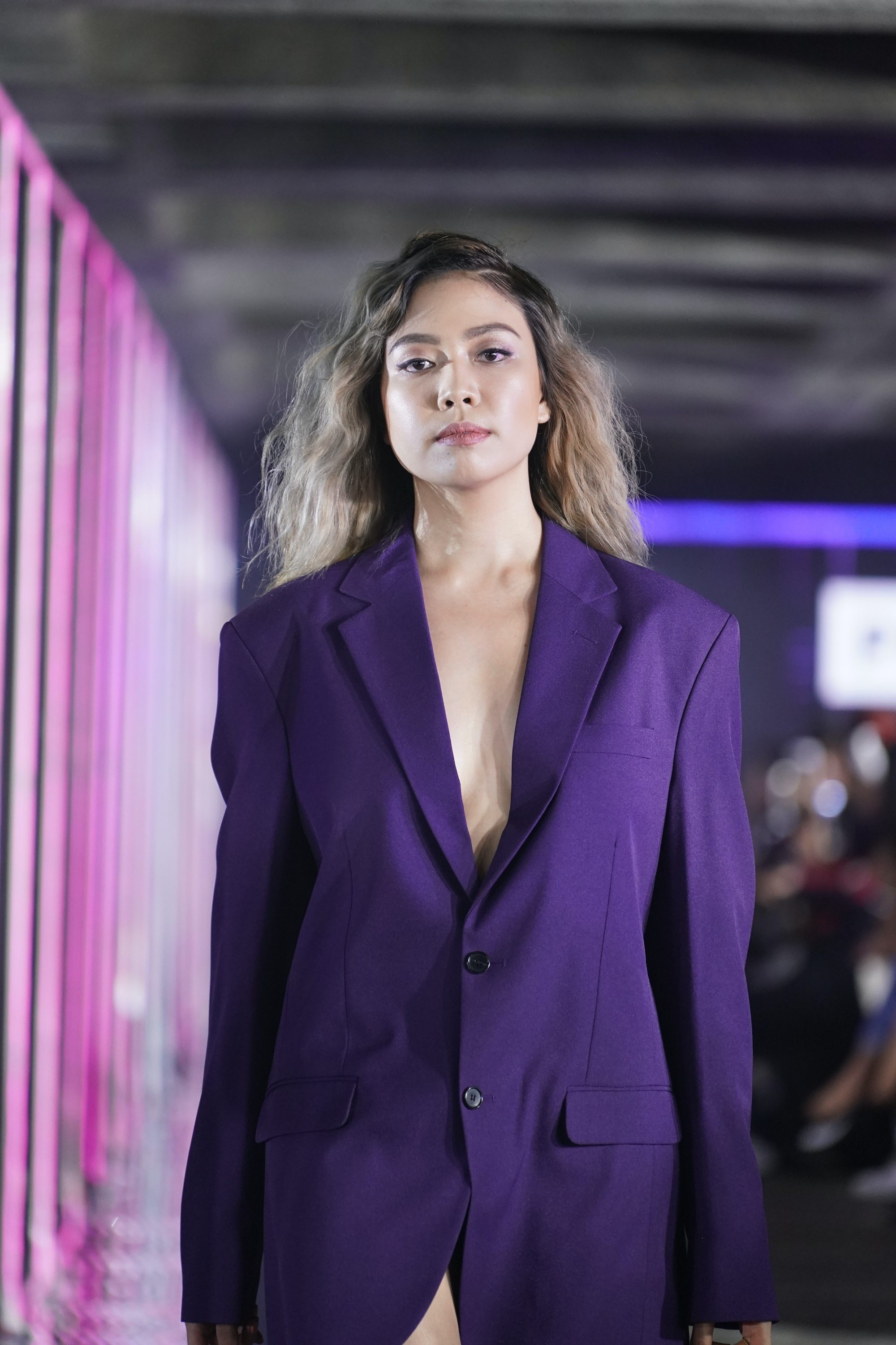 Jeline Catt at the TRESemmé Runway 2019