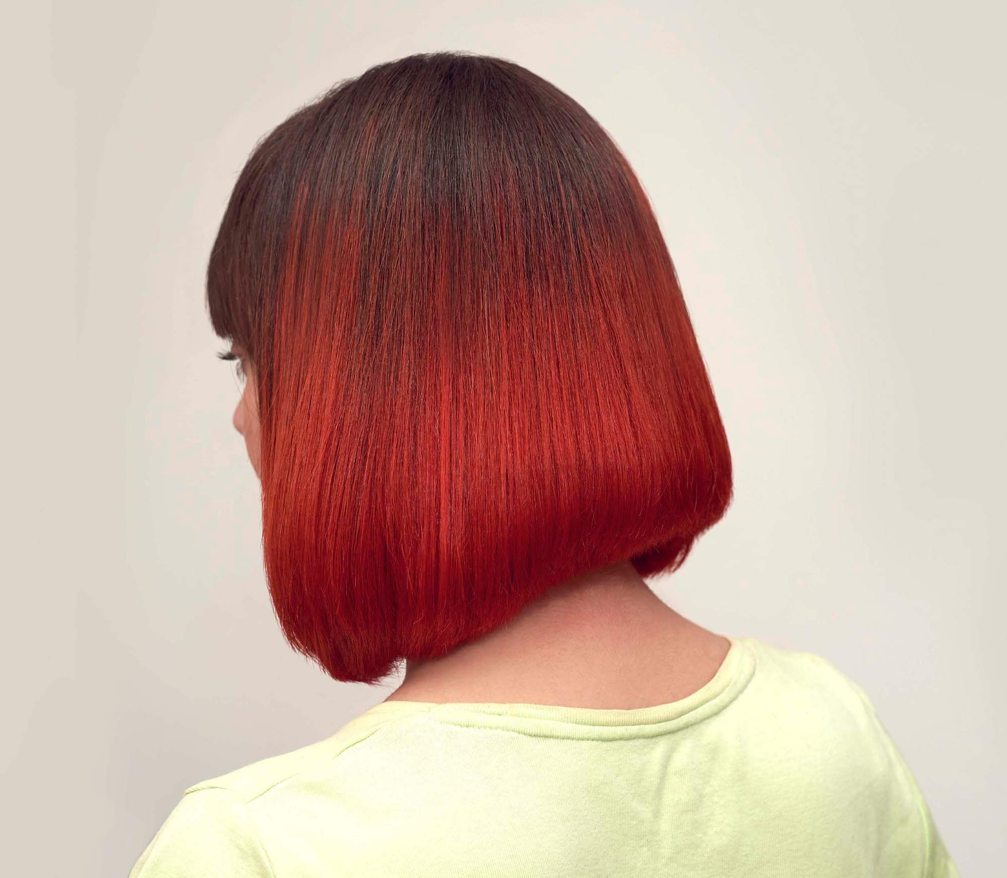 ผมสีแดง