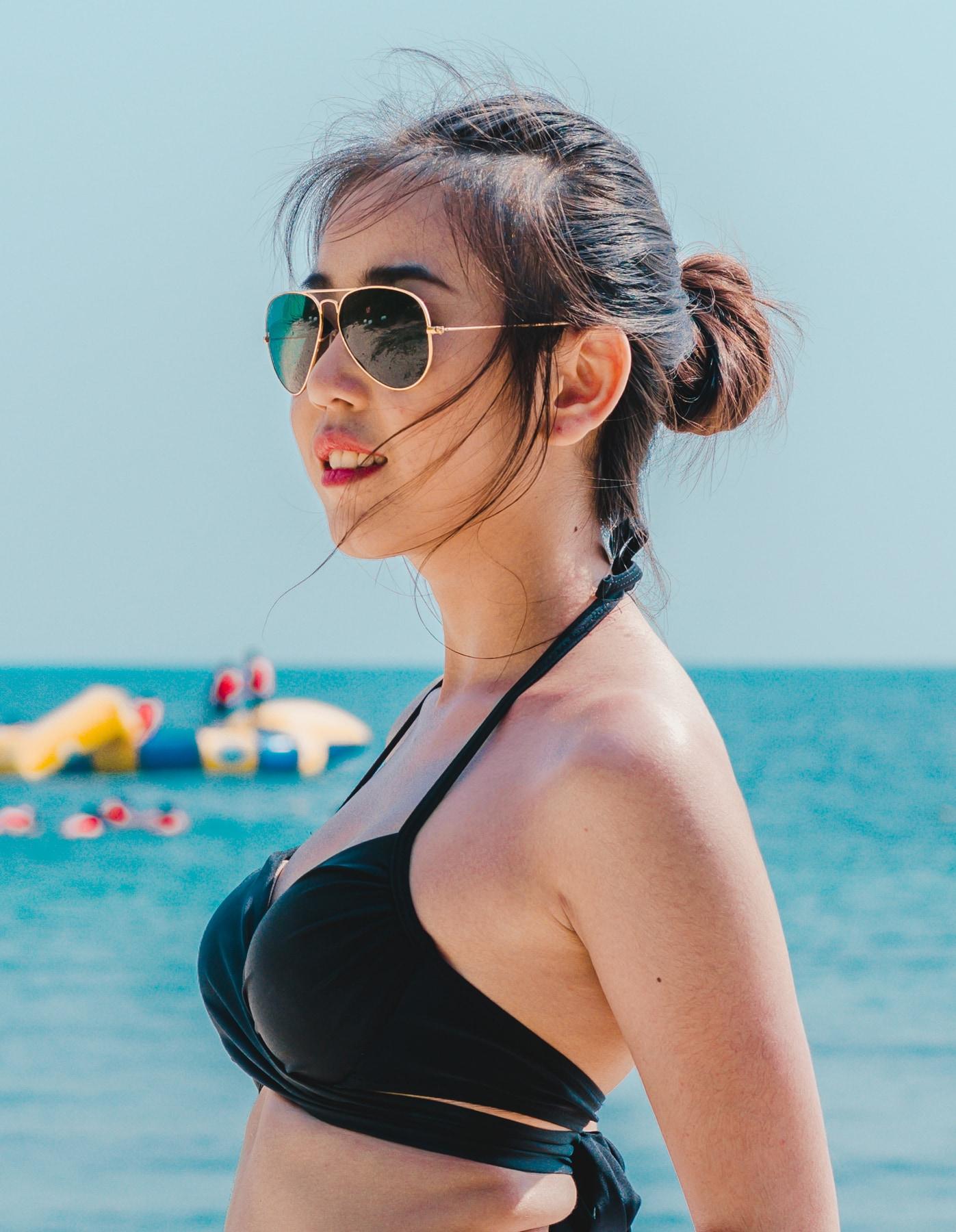 ทรงผมไปทะเล