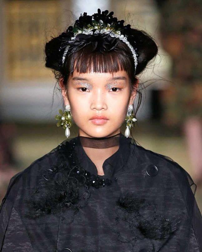 แฟชั่นทรงผมจาก London Fashion Week SS19