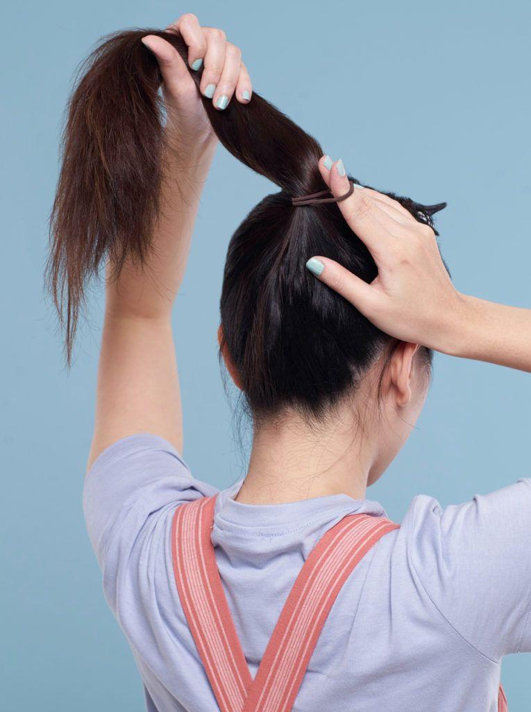 ทรงผมมัดจุก ผมหน้าม้า วิธีมัดผม ทรงผมบัน ทรงผมยาว